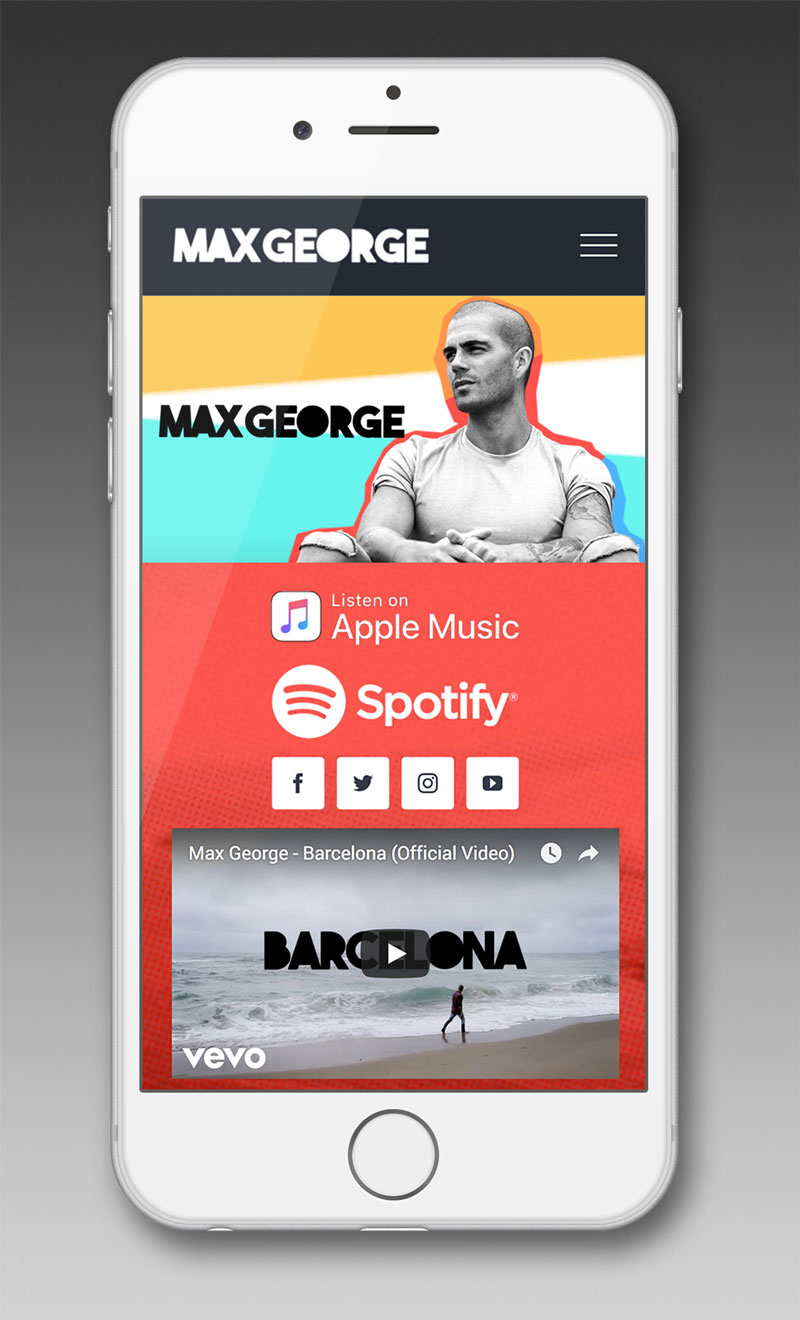 max george the wanted website barcelona