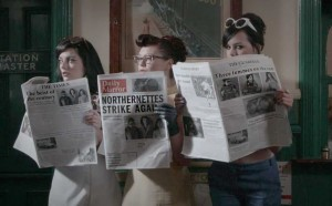 Northernettes-Danger-video-newspapers