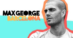 Max George website design and production